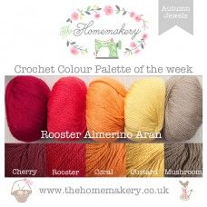 Autumn Jewels Yarn Pack - Rooster Almerino Aran