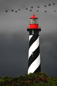 St. Augustine lighthouse		Anastasia Island	Florida	US	29.885556,-81.288611