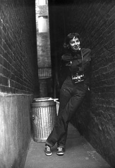 Photographer Lisa Larsen in 1949 photographed by Rodney Williams in New York