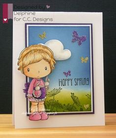 Happy Spring by Delphine for CC Designs - Scrapbook.com