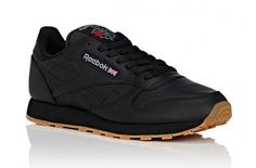 The Reebok Classic Leather Returns In Black And Gum • KicksOnFire.com