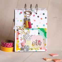 Le scrap d 'Opsite: Mini album Cactus pour Zibuline Mini Albums Scrapbook, Wedding Scrapbook, Diy Scrapbook, Mini Cactus, Cactus Flower, Mini Books, Flip Books, Scrapbooking, Pocket Letters