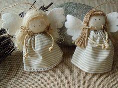Christmas Angels, Christmas Crafts, Christmas Decorations, Christmas Ornaments, Holiday Decor, Angel Ornaments, Handmade Ornaments, Crafts To Make, Diy Crafts