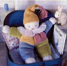 knitting projects for babies * knitting projects ` knitting projects for beginners ` knitting projects easy ` knitting projects free ` knitting projects blanket ` knitting projects sweaters ` knitting projects for the home ` knitting projects for babies Knitted Doll Patterns, Knitted Dolls, Crochet Toys, Crochet Baby, Knitting Patterns, Blanket Patterns, Lace Patterns, Crochet Patterns, Free Knitting