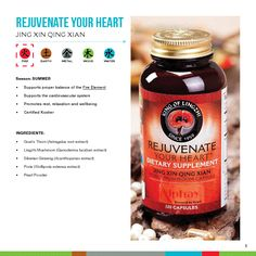 Rejuvenate your heart! Natural Lingzhi supplement by Alphay