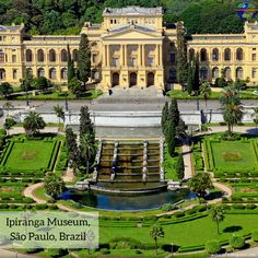 Ipiranga Museum, Sao Paulo, Brazil --------------------------------  Compare Cheap rates to Sao Paulo, Brazil! ------  travel, south America, trip, destination, attraction, museum, brazil