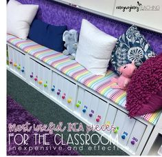 Get back to school ready! Most useful IKEA pieces for the classroom. Inexpensive… Get back to school ready! Most useful IKEA pieces for the classroom. Classroom set up. Book Boxes Classroom, Classroom Hacks, New Classroom, Classroom Setting, Classroom Setup, Classroom Design, Preschool Classroom, Classroom Organization, Classroom Management