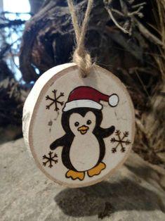 Noël Bonhomme de neige en bois Boutons Coupe Décoration Kid/'s Christmas Crafts 35 mm