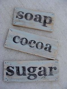 wood sign, letter, salvag wood, vintage wood, salvaged wood, painted signs, paint sign, diy, wooden signs
