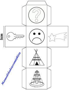 Story cubes caseros - cubo 9