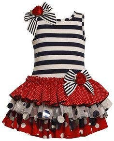 cute girl dress(use different materials)