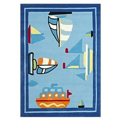 Boats #Kids #Rug By Bright Kids Shop now #Boats Kids Rug By Bright Kids and get $10* OFF your next purchase when you Sign Up to our newsletter. Stay tuned for Bright Kids latest collection of #rugs products. #Australia | #Shopping | #HomeDecor
