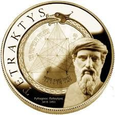 Tetraktys · Pythagoras - Sea Strings - Eduard Rodes and Carles Trepat Aleister Crowley, New Thought, Ancient Greece, Sacred Geometry, Verses, Alchemy, Numerology, Mayo, Magick