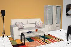 Moderno salón comedor con los muebles del catálogo Kay