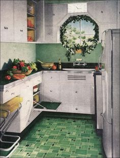 1945 Tiny Armstrong Kitchen