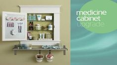 Video: Upgrade Your Medicine Cabinet (TIP: Hover over screen to search within video - move cursor to view entire window.)