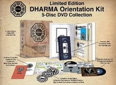 """So, there was this special limited edition """"DHARMA Orientation"""" version of the Season 5 DVDs. The DVDs came in sleeves that looked like floppy disks (remember THOSE?!) and it included a VHS tape of an orientation video. Very old school. It was pretty pricey, as you might expect. I went with the Best Buy special edition that included an exclusive disc with some bonus features not available anywhere else. Or so they said."""