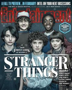 hey guys! @entertainmentweekly did a First Look at Season 2! This is all we can share.. for now.. ❤#strangerthings #elevenisback