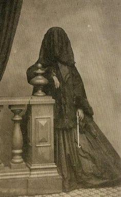 mourner c. 1850