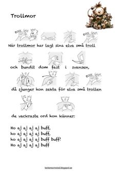 Tecken som stöd Speech Language Therapy, Speech And Language, Learn Swedish, Swedish Language, Sign Language, Pre School, Teaching Resources, Kindergarten, Education