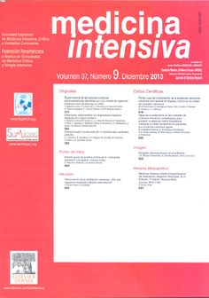 Medicina Intensiva. Disponible en la Hemeroteca (Biblioteca Central - Nivel 4A)
