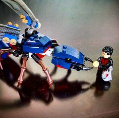 Scott feeding Ant-thony. Pretty fun set. I like taking pictures of heroes as their secret identities. #lego #afol #minifig #minifigures #marvel #antman #scottlang #antthony by dr_wicho
