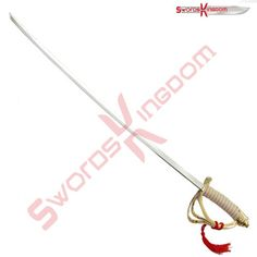 This beautiful reproduction of an American Cavalry Officer's Sword 1860 pattern replica features a 31-inch steel blade and a polished steel scabbard.If you need more clarifications you can visit our website by clicking a link that mentioned on our profile.