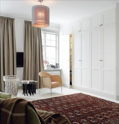 Swedish Style - Built-in-Wardrobes
