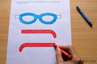 Step 2 Fun Glasses craft