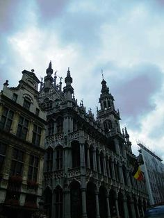 Historical architecture in Brussels