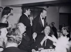""" Cecil Beaton, Noël Coward, Greta Garbo and Lord David Cecil, 1951 "" Is this an elaborate Photoshop job someone planted at the NPG just so I would freak out?!"