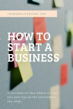 How to start a business in the UK. This step by step guide on how to start your own business is perfect for any budding entrepreneur. It covers finding a Start A Business From Home, Best Business Plan, Starting Your Own Business, Business Names, Business Planning, Business Tips, Online Business, Craft Business, Business Website