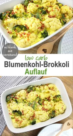 Blumenkohl-Brokkoli-Auflauf low carb Cauliflower Broccoli Run A delicious creamy low carb run for the whole family. The recipe is perfect for taking in a low carb keto diet. In my recipe overview you will find more than 250 low carb recipes. Fun Easy Recipes, Easy Meals, Low Carb Keto, Low Carb Recipes, Casserole Recipes, Crockpot Recipes, Mexican Food Recipes, Dinner Recipes, Dessert Recipes