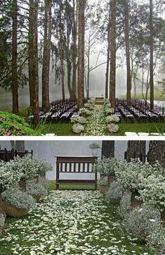Blissful wedding inspiration.
