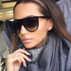677ba978b66 Sunglasses. Clear SunglassesFlat Top SunglassesVintage SunglassesOversized  SunglassesTrendy Sunglasses 2017Cat Eye SunglassesWomen s ...