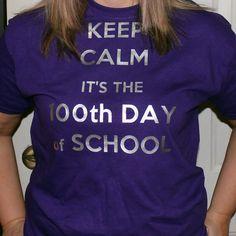 kraf*T*y mama: 100th Day of School T-Shirt with HTV