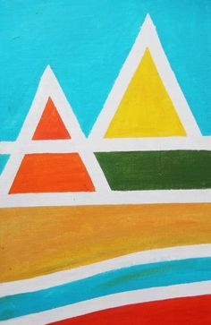 Pyramid II Acrylic Material, Is 11, Acrylic Painting Canvas, Medium Art, Abstract Expressionism, Saatchi Art, Original Paintings, Projects To Try, Fine Art