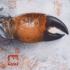 jorg schmeisser - Google Search Work In Australia, Fish Art, Crabs, Artist Painting, Printmaking, Mixed Media, Artists, Album, Google Search