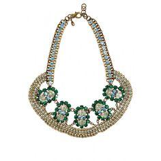 Calantha Crystal Embellished Necklace #seasonofsparkle @calypsostbarth