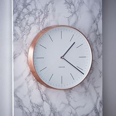 Horloge cuivre                                                                                                                                                      Plus