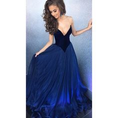 sherri hill#Royal Blue#Prom Dresses#2017
