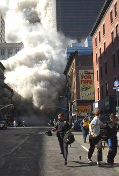 Las imágenes del 11-S que siempre quedarán para el recuerdo