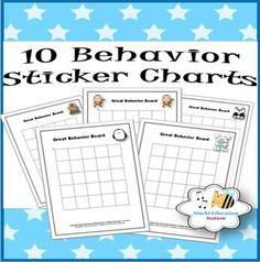 Behavior Incentives, Sticker Chart, Behaviour Chart, Kindergarten Lessons, Book Authors, Classroom Management, Teaching, Fun, Behavior Charts