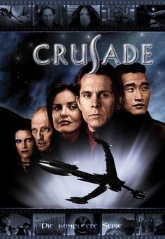 CRUSADE, the continuing adventures set in the 'Babylon 5' universe. A great one-season wonder of a show that died before its time.