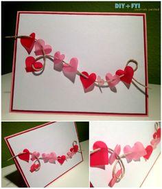 Unique Homemade Valentine Card Design Ideas Family Holiday  Card
