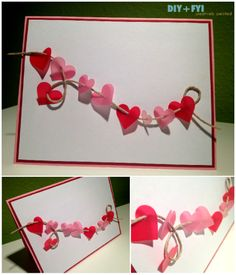 homemade valentine's day card holders