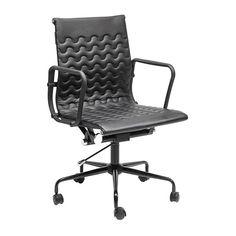 silla oficina Wave negra | Tiendas On