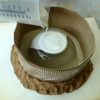 making-a-one-piece-plaster-press-mold