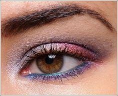 L'Oreal Infallible Eyeshadows in Liquid Diamond, Glistening Garnet, Perpetual Purple.