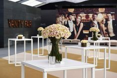 See how Hollywood celebrated the film industry's biggest night in On Sunday, the Academy of Motion Pictures Arts and Sciences held the annual Oscars, bringing the ceremony back to its annual home at the Dolby Theatre in Hollywood. Wood Panel Walls, Paneled Walls, 2016 Pictures, Custom Shades, Event Decor, Event Ideas, Vanity Fair Oscar Party, Wine Festival, Barbie And Ken